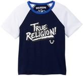True Religion Retro Raglan Tee (Toddler & Little Boys)