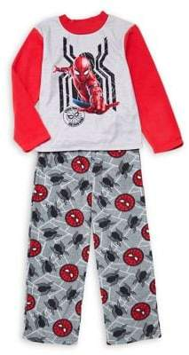 AME Sleepwear Little Boy's & Boy's 2-Piece Spiderman Pajama Set