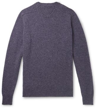 Anderson & Sheppard + Camoshita Shetland Wool Sweater