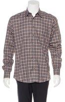 Gucci Plaid Long Sleeve Shirt