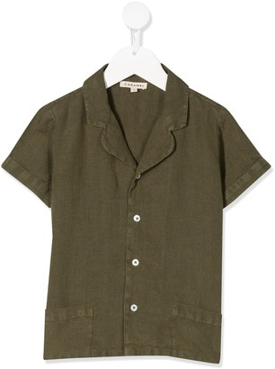 Caramel Holborn short sleeved shirt