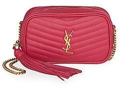 Saint Laurent Women's Monogram Leather & Chain Mini Bag