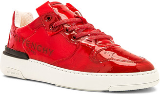 Givenchy Wing Low Top Sneaker With Logo in Red | FWRD
