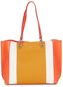 David Jones ESTEL women's Shopper bag in Orange