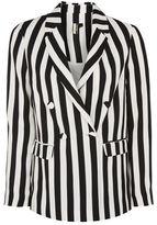 Topshop Stripe suit jacket