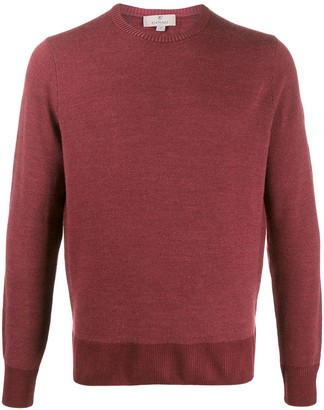 Canali Long-Sleeve Fitted Jumper