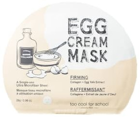 Too Cool for School Egg Cream Firming Mask