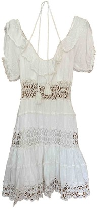 Free People White Cotton Dresses