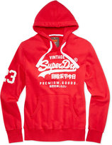 Superdry Men's Premium Goods Graphic-Print Logo Hoodie