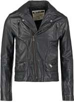 One Green Elephant Terrace Leather Jacket Black
