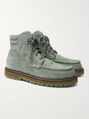Jacquemus Garrigue Suede Boots