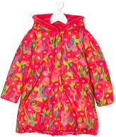 Oilily floral print padded coat