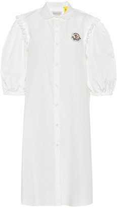 MONCLER GENIUS 4 MONCLER SIMONE ROCHA embellished cotton dress