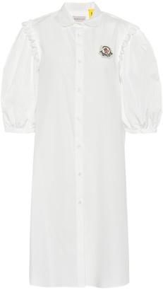Simone Rocha Moncler Genius 4 MONCLER embellished cotton dress