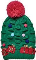 San Diego Hat Company Children's Christmas Tree Knit Beanie KNK3518