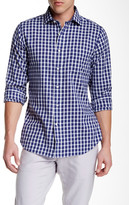 Gant Windblown Plaid Long Sleeve Hugger Fit Shirt