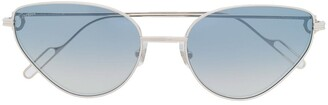 Cartier Premiere de cat-eye frame sunglasses