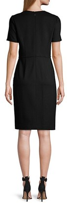 Elie Tahari Alessandra Ponte Knit Dress