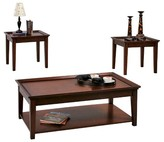 Progressive Encore Accent Table - Tobacco Furniture