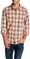 Threads 4 Thought Long Sleeve Regular Fit Sunset Plaid Flannel Shirt