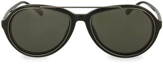 Linda Farrow Novelty 59MM Aviator Sunglasses