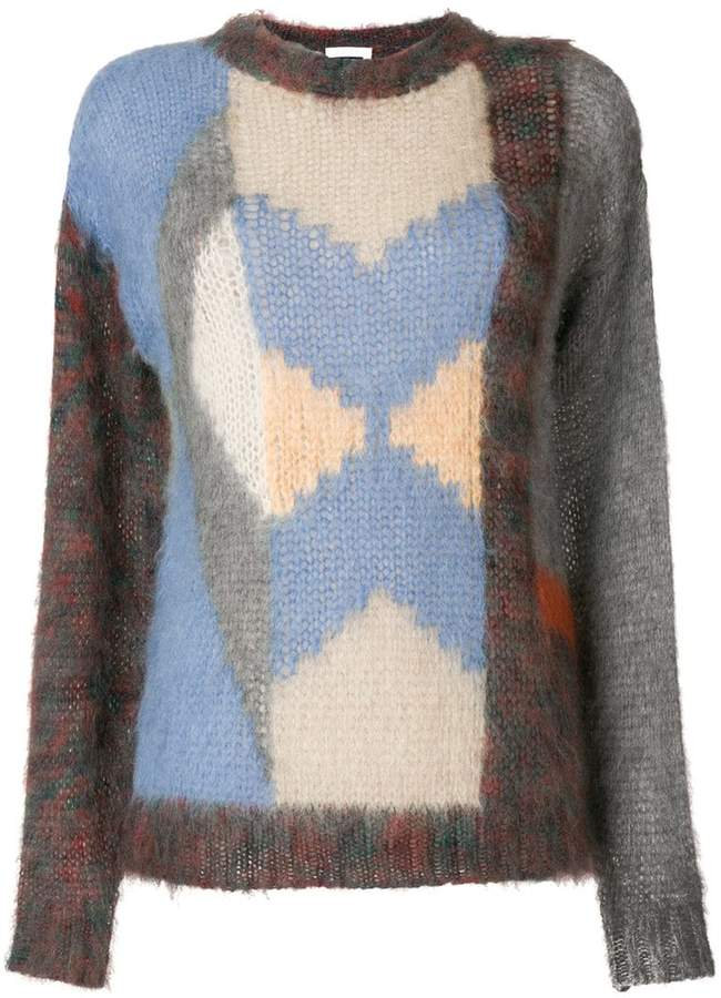 Chloé colour blocked sweater