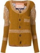 Vivienne Westwood puff shoulder cardigan - women - Cotton/Linen/Flax/Acrylic/Polyimide - S/M