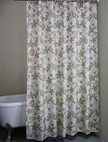 Christmas Fabric Shower Curtain Liner with Hooks/Rings- Extra Long 72 x 78 inches