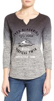 Lucky Brand Women's Triumph Graphic Space Dye Tee
