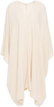 The Row Iona Draped Stretch-crepe Dress