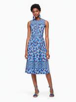 Kate Spade Tangier floral midi dress
