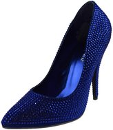"""Pleaser USA SEDUCE-420RS Women's 5"""" Heel, Rhinestone Covered Pointed Toe Pump, Color:, Size:7"""