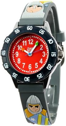 Baby Watch Baby Watch3700230605989Zap TournamentBoys 'WatchAnalogue QuartzGrey Dial Red Plastic Strap
