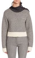 Derek Lam Oversized Turtleneck Sweater