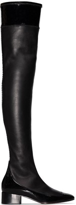 Loewe 40mm Thigh-High Leather Boots