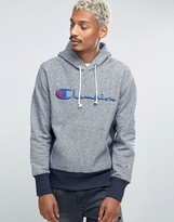 Champion Hoodie With Script Logo