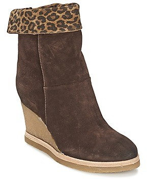 VIC VANCOVER GUEPARDO women's Low Ankle Boots in Brown