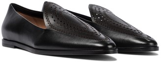 Alaia Leather loafers