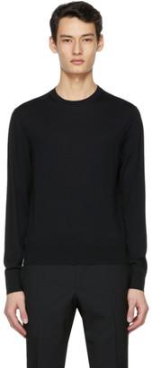 Tom Ford Black Fine Merino Sweater