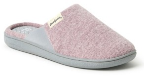 Dearfoams Women's Memory Foam Scuff Slippers, Online Only