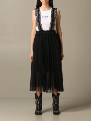 Gaelle Bonheur Dress With Lace Straps