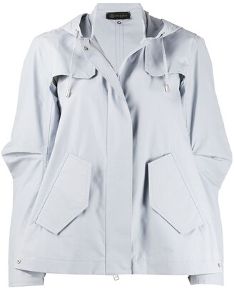 Mr & Mrs Italy Oversized Rain Jacket