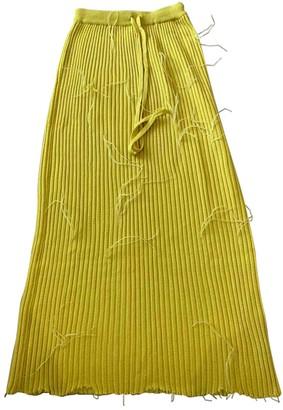 Marques Almeida Yellow Skirt for Women