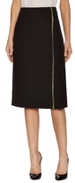 Akris Single Stripe Knee Length Skirt
