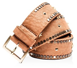 Zadig & Voltaire Women's Starlight Embellished Leather Belt