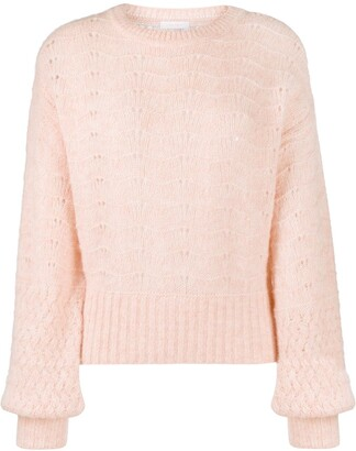 See by Chloe Knitted Long-Sleeve Jumper