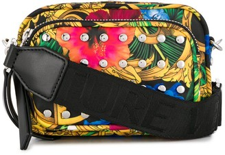 Versace Jungle Print Studded Bag