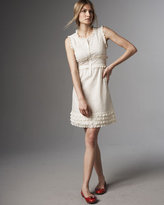 MARC by Marc Jacobs Belleville Embroidered Dress