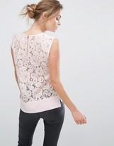 Ted Baker Lace Back Woven Top