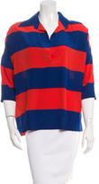Stella McCartney Striped Silk Blouse w/ Tags
